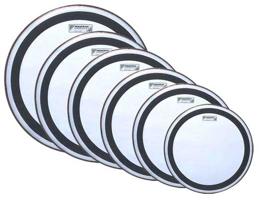 Aquarian Performance 2 Clear Drum Heads