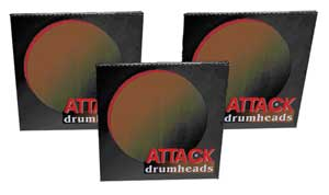 Attack Drum Head Packages