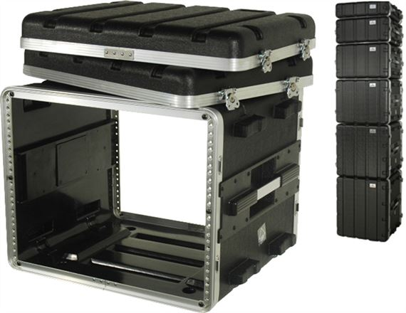 Grundorf ABS Series Professional Amp Rack Cases