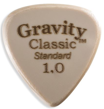 Gravity Picks Classic Gold Standard Guitar Pick