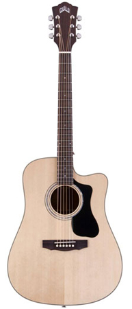 Guild GAD D140CE Dreadnought Acoustic Electric Guitar