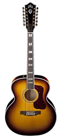 Guild F412 Vintage Jumbo 12-String Acoustic Guitar with Case