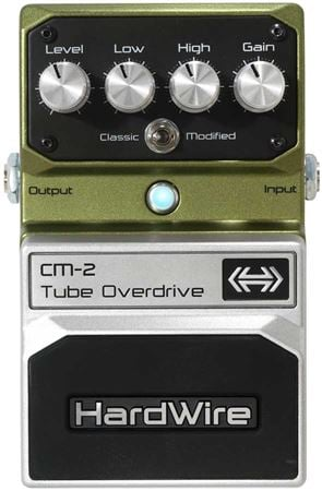 HardWire CM2 Tube Overdrive Pedal
