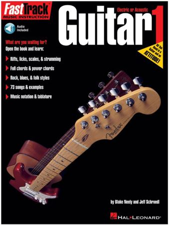 Hal Leonard FastTrack Guitar Method 1 Book CD