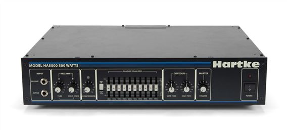 Hartke HA5500 Bass Guitar Amplifier Head