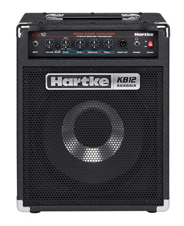 "Hartke KB12 Kickback Bass Combo with 12"" Hydrive Speaker 250 Watts"
