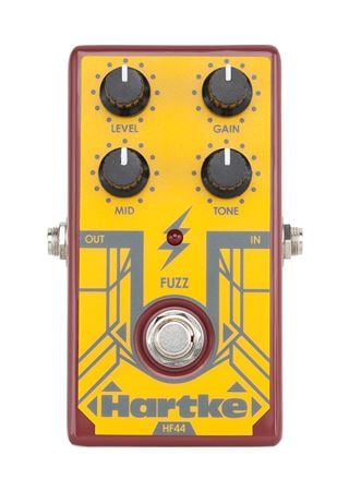Hartke HF44 Fuzz Bass Fuzz Effects Pedal