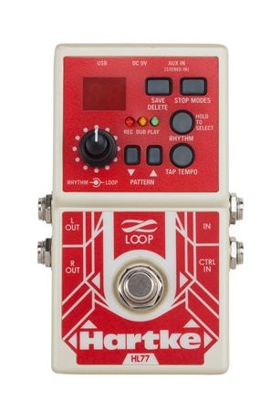 Hartke HL77 Bass Looper Effects Pedal