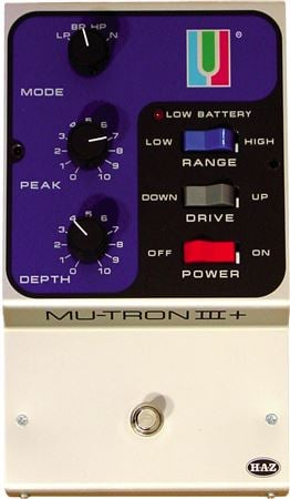 Haz Labs MutronIII Plus Envelope Filter Pedal