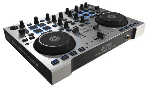 Hercules DJ Console RMX 2 Control Surface with Audio Interface