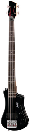 Hofner Shorty Travel Electric Bass with Bag