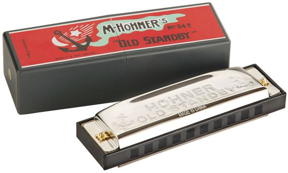 Hohner 34B BX Old Standby Harmonicas