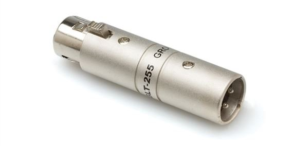 Hosa GLT225 XLR Female to XLR Male Coupler