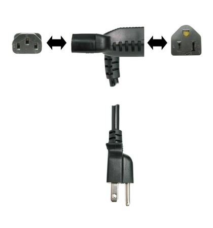Hosa PWD Power Cord Piggyback IEC C13 to NEMA 515P