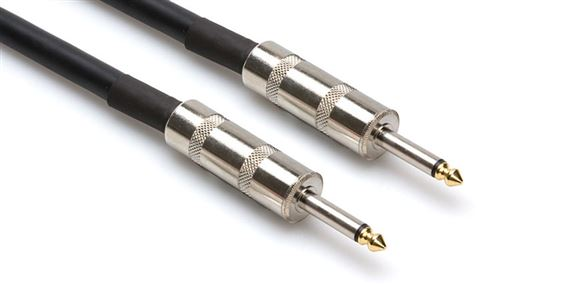 Hosa SKJ Edge Speaker Cables Neutrik 1/4 Inch TS