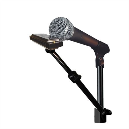 HarpArm Microphone Stand Harmonica Holder