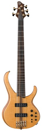 Ibanez BTB1405E Premium 5 String Bass Guitar with Bag