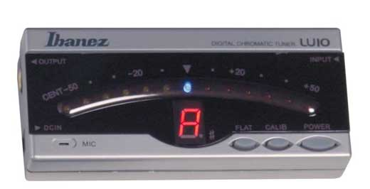 Ibanez LU10 Digital Chromatic Tuner