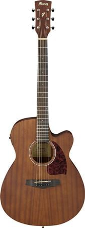 Ibanez Performance PC12MHCE Acoustic Electric Guitar Open Pore Natural