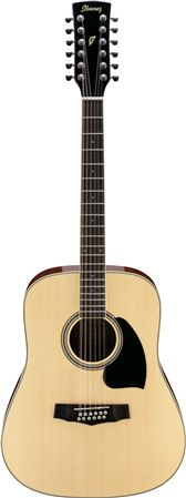 Ibanez PF1512 Dreadnought 12 String Acoustic Guitar