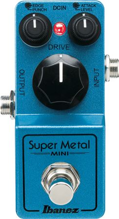 Ibanez Super Metal Mini Distortion Effects Pedal