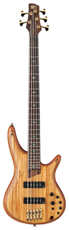 Ibanez SR1205E SR Premium 5 String Electric Bass with Bag