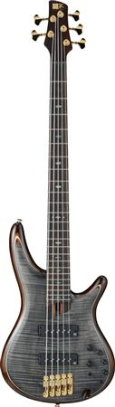 Ibanez SR1405E 5 String Electric Bass with Bag Transparent Gray Black