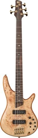 Ibanez SR1605E Premium 5 String Electric Bass Guitar with Bag