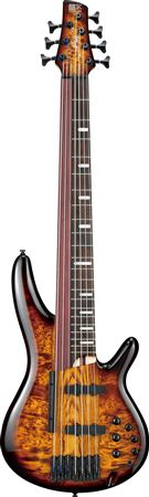 Ibanez Bass Workshop Ashula SRAS7 Electric Bass with Case