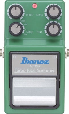 Ibanez TS9DX Turbo Tube Screamer Distortion Pedal