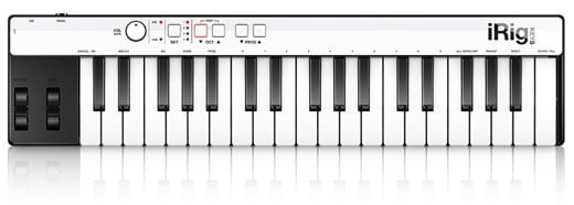 IK Multimedia iRig KEYS 37 Key USB MIDI Keyboard Controller