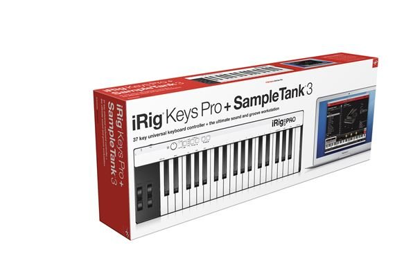 IK Multimedia iRig KEYS Pro and SampleTank 3 LE Bundle