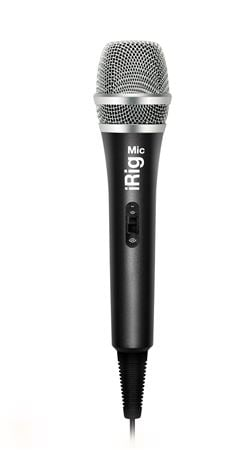 IK Multimedia iRig Mic Condenser Micr for iOS and Android Devices