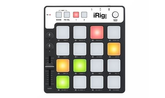 IK Multimedia IRig Pads USB MIDI Pad Controller for MAC PC iOS Devices