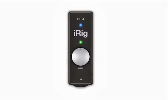 IK Multimedia iRig Pro 96k Audio and MIDI Interface for iOS Devices