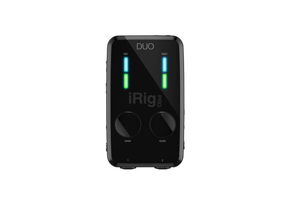 IK Multimedia IRig Pro Duo USB Audio Interface
