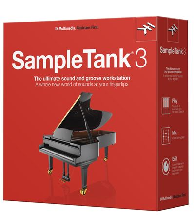 IK Multimedia SampleTank 3 Software Instrument Plugin