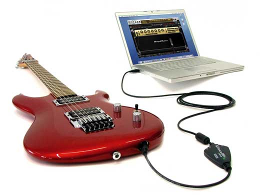 IK Multimedia StealthPlug Guitar to USB Audio Cable