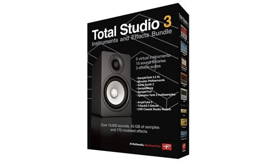 IK Multimedia Total Studio 3 Music Software Bundle
