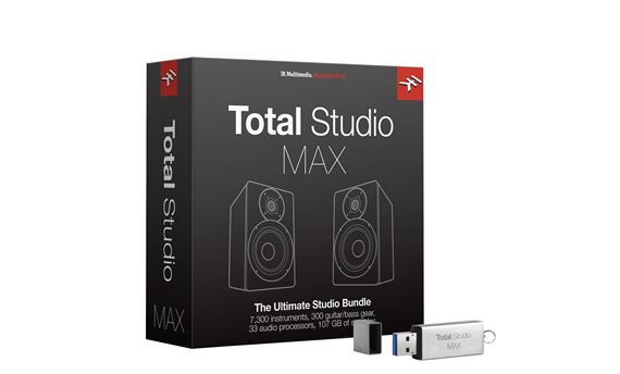 IK Multimedia Total Studio MAX Software Bundle