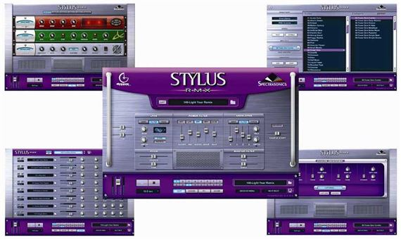 Spectrasonics Stylus RMX XPanded Software Plugin