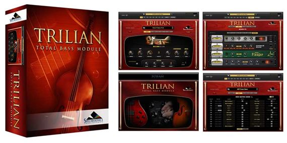 Spectrasonics Trilian Bass Module Software Instrument Plugin