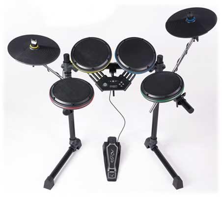 review ion audio drum rocker rock band guitar hero drum set. Black Bedroom Furniture Sets. Home Design Ideas