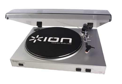 ION Audio TTUSB05 USB Digital Audio Conversion Turntable