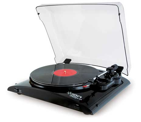 ION Audio Profile LP USB Digital Audio Conversion Turntable