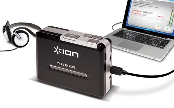 ION Audio Tape Express Cassette to USB Audio Interface
