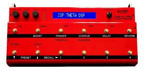 ISP Technologies Theta Pro DSP Guitar Preamp FX Pedal