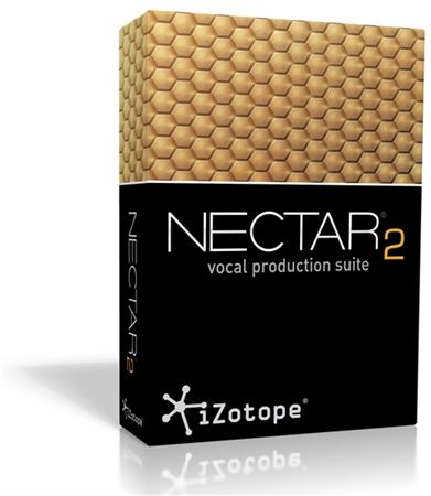 iZotope Nectar 2 Vocal Production Suite Software Plugin