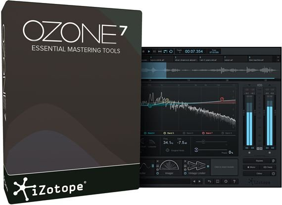 iZotope Ozone 7 Mastering Software Effect Plugin