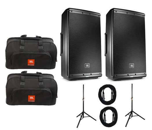 JBL EON610 10 Inch 2-Way Powered Loudspeaker Package